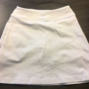 ATHLETA Bright White Athletic Skort